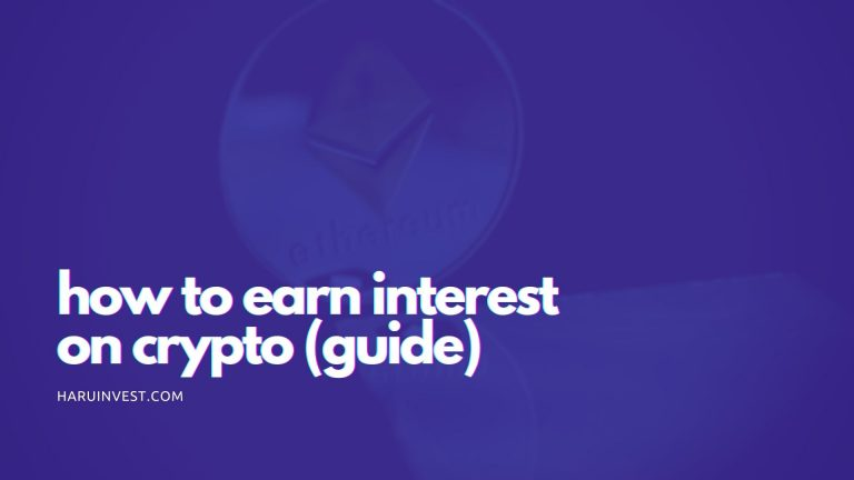 how to earn interest on crypto