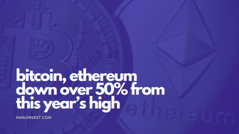 btc and ethereum price down